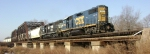 CSX 2793 and NS 5305 provide the motive power on CSX MA2