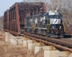 CSX MA2 is traveling light in heading east over the Lehigh Line