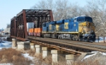 It's 10:35 as CSX's Q190 makes its way east over the LEHL