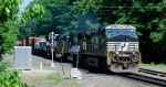 NS 18G passes through the Lansdown Rd grade crossing