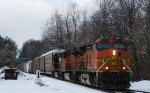 BNSF 4623 leads NS 212 past LEHL MP 68.8 with no defects