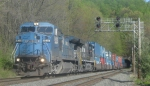 Shades of CR as PRR 8336 (ex-CR 6088) heads up 24Z
