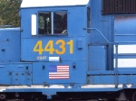 CSX 4431 Number Closeup