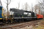 NS 5294 Browns Yard Santa Train 2012