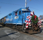 NS 5290 CSX 4412 Santa Train