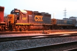 CSX GP39 slug mother and CSX road slug (casket slug)