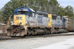 CSX 8320 switches Maxwell Yard