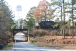 CSX AC4400 Speeds South To McCormick with Q-693