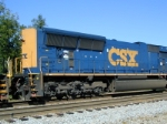 Long Hood on CSX Tier II SD70MAC