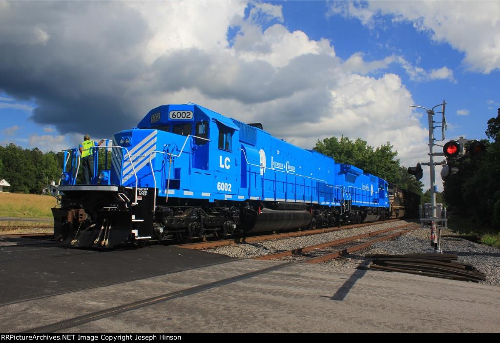 LC SD40-2T #6002 C