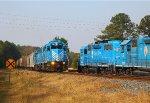 Two Train Meet