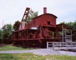 Steam Log Skidder on Railcar