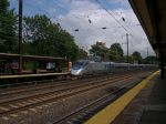 Acela 2017 Leads A Southbound Train Into Metropark Station