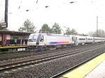 NJ Transit ALP-46 4621 Enters Metropark Station