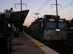 Amtrak Engine Number 921 In Metropark Station