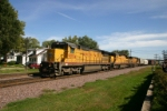Manifest train heads west