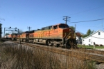 BNSF 4616 follows close behind