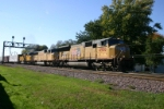 UP 4986 with a freight train for Proviso