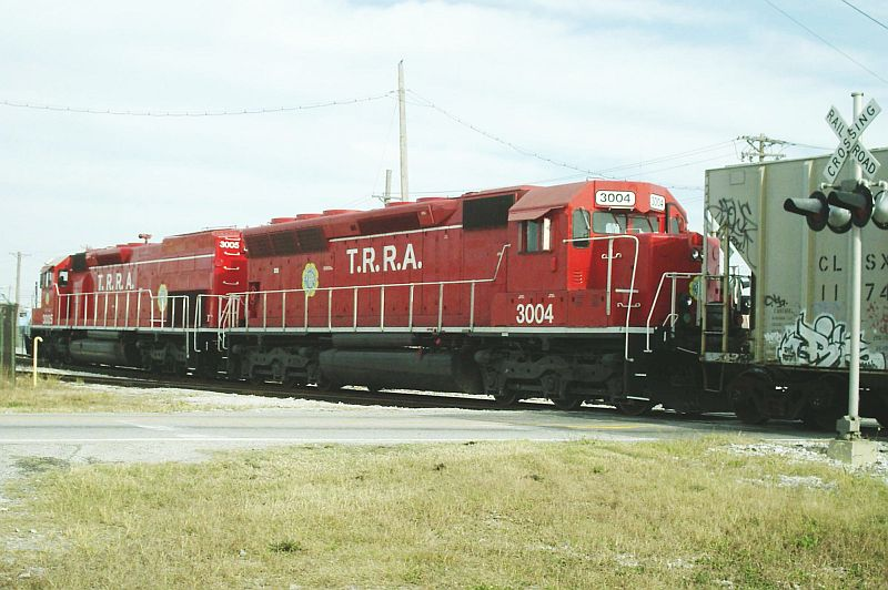 TRRA SD 40-3 3004 Trailing