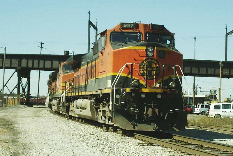 BNSF C 44-9W 997