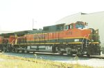 BNSF C44-0W 1075 In The Hole