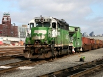 BNSF 2925 and BN 12608