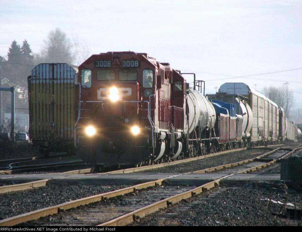 CP 3008 Westbound Manifest Freight