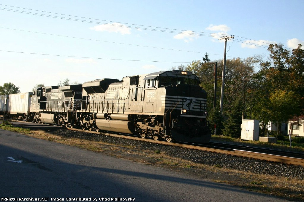 NS 2753 east