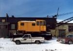 NYSW Crane alongside roundhouse