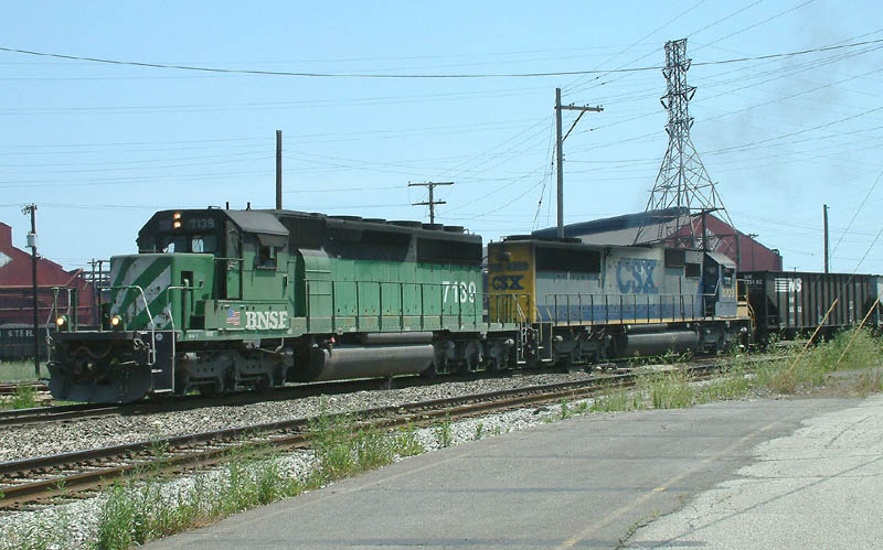 Going down the Kankakee line