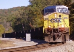 CSX 248 leads another coal train