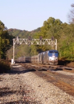 The New River train and classic C&O signals