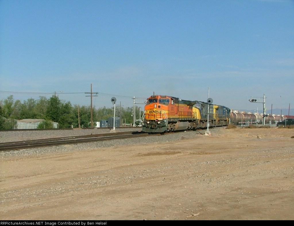 BNSF 872 @ N.Pueblo Co