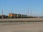BNSF/CSX Units on SB Pueblo Yrd