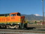 BNSF 572 and Pikes Peak