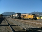 BNSF SD70MAC's and UP 5292