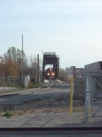 CN 4714 on the ex-GB&W Fox River swing bridge