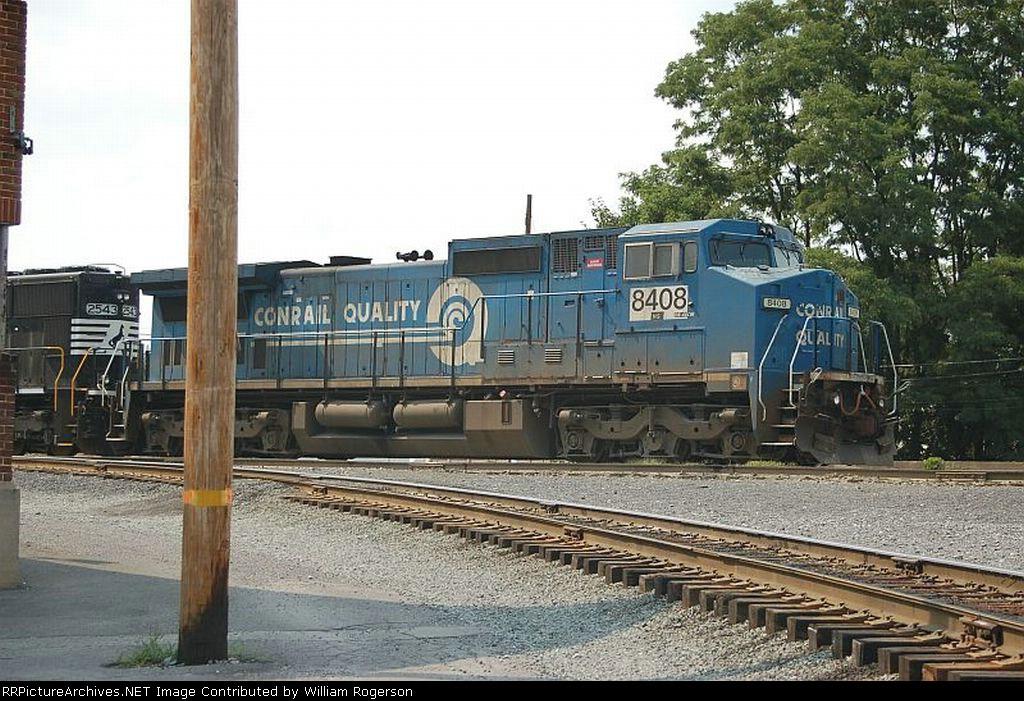 Norfolk Southern Railway (Ex Conrail) GE C40-8W No. 8408