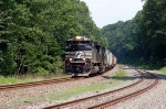 Norfolk Southern Railway (NS) Mixed Freight Train powered by EDM SD70M-2 No. 2708 and GE C40-9 No. 8834