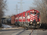 4008 leads the Thanksgiving Day edition of WSOR's JC through town