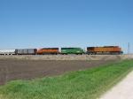 BNSF 4168, 2975 & 3124