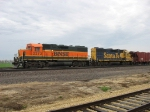 BNSF 2272 & 2839 waiting to go to work