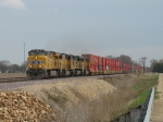 UP 5331, 4266, 8474 & 5196 continuing west