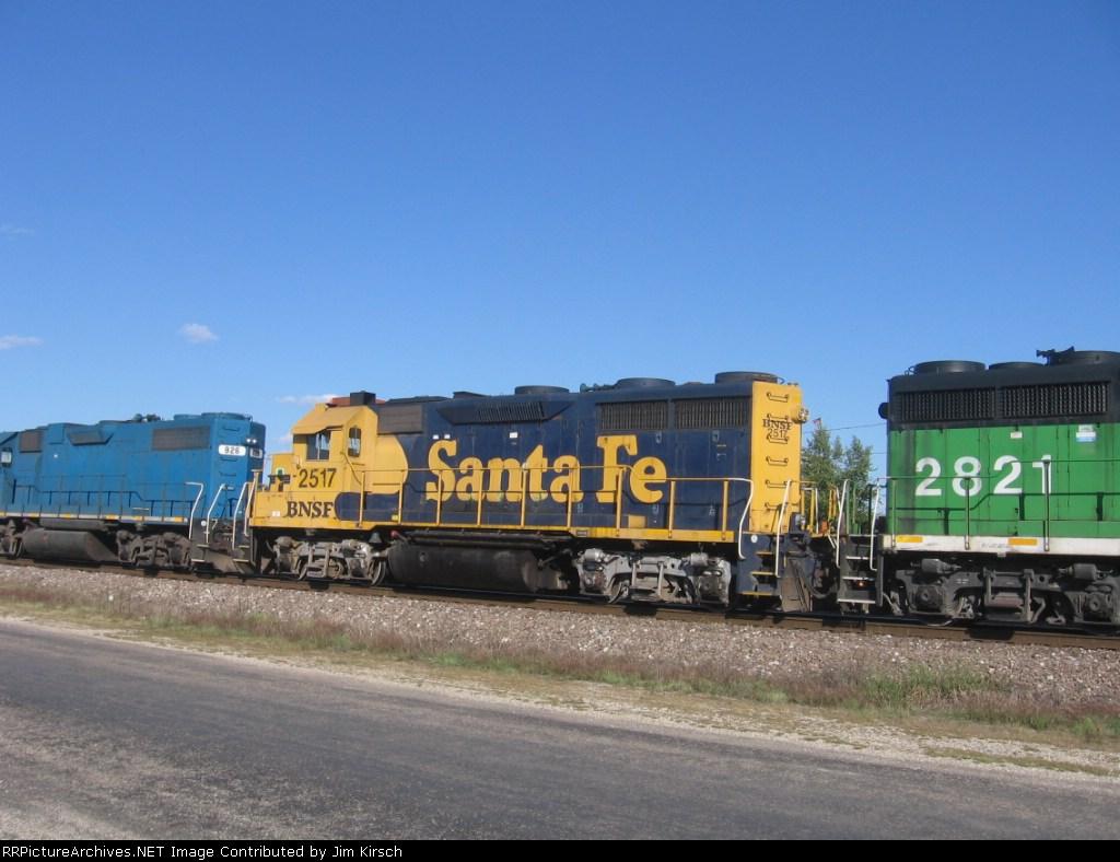 BNSF 2517