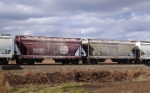 BNSF Cement Hoppers