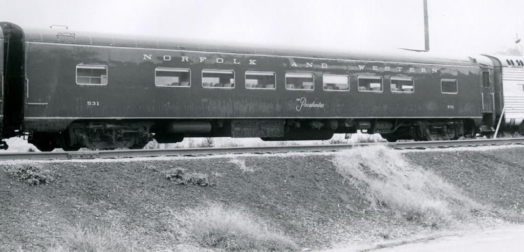 N&W 531 THE POCAHONTAS
