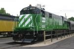 BN 5383 (U30C) After Re-Paint