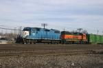 EMDX 826 & BNSF 2157