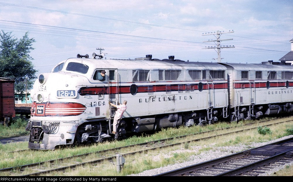 CB&Q 126AB, 1964