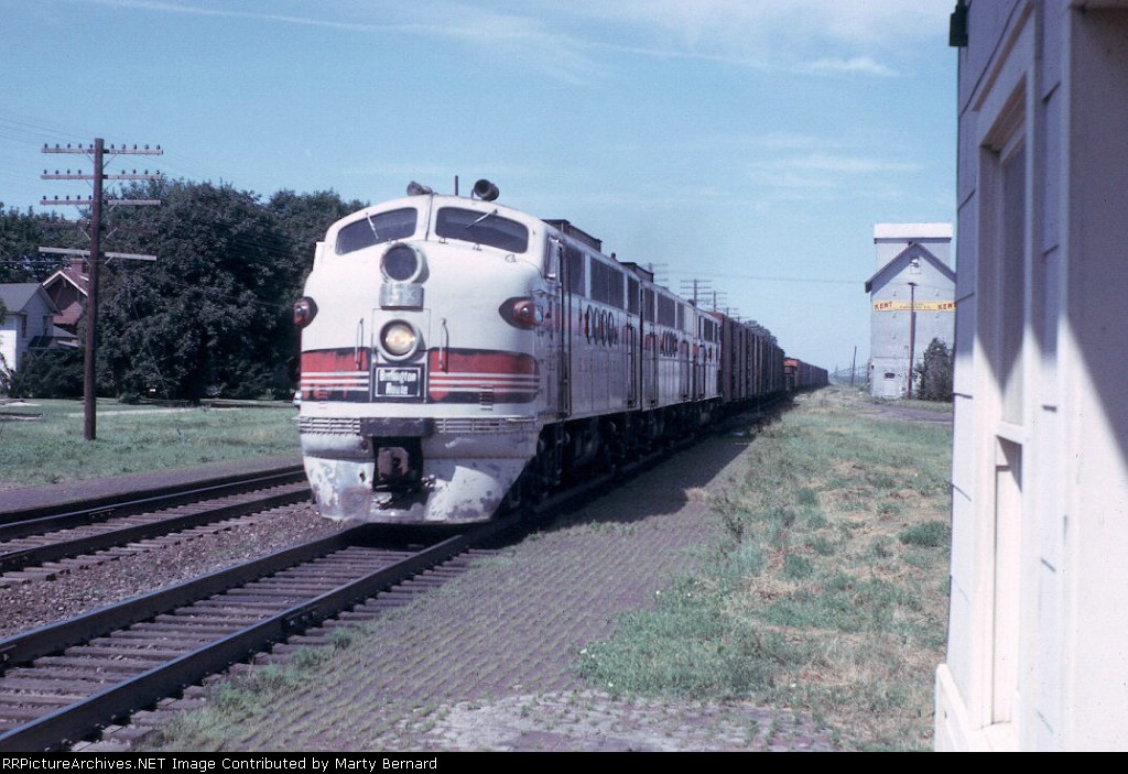 CB&Q 153CBA (FTA, FTB, F2A) in 1963